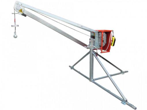 Electropalan Profesional TIP MACARA 500 kg, 40 metri cablu - IORI-GM500-50m Motor Monofazic
