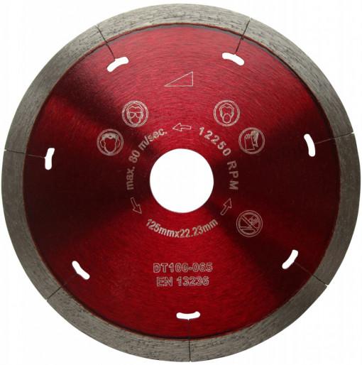 Disc DiamantatExpert pt. Ceramica Dura & Portelan - Rapid 230mm Super Premium - DXDH.3907.230