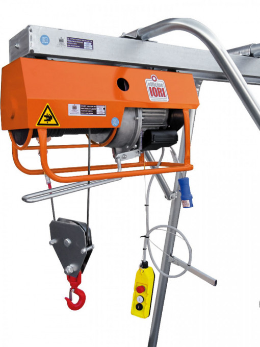 Electropalan Profesional 800 kg, 2 x 40 metri cablu - IORI-DM800MAX-40m