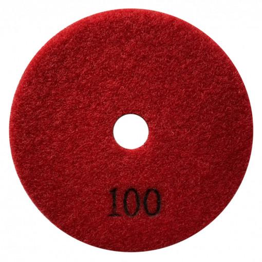 Paduri / dischete diamantate pt. slefuire uscata #100 Ø125mm - DXDY.DRYPAD.125.0100