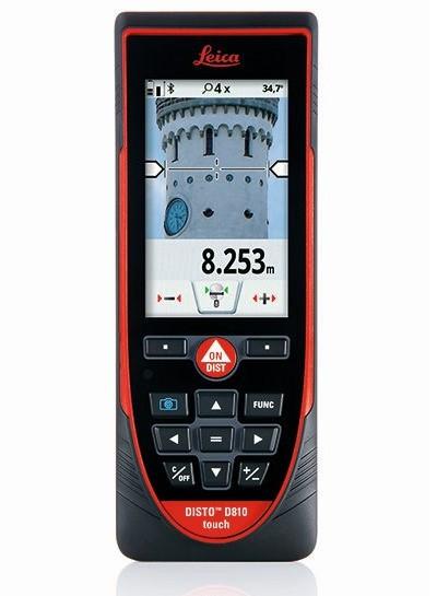 Telemetru Laser 250m Avansat, Disto D810 touch - Leica-792297