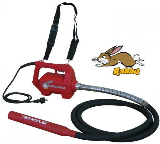 Vibrator de beton - Technoflex Rabbit 2800W - Made in Spain