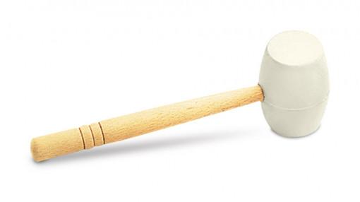 Ciocan din cauciuc alb 250g - RUBI-65912