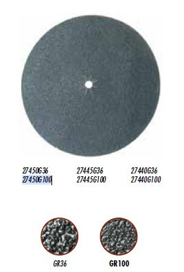 Disc carbura de silicon pt. slefuiri placi, Ø450mm, gran. 36 - Raimondi-27445G36
