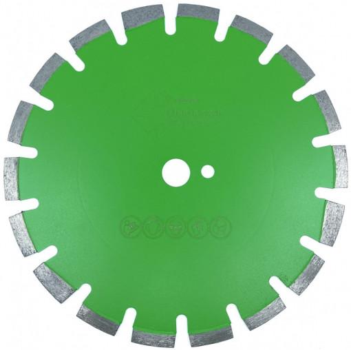 Disc DiamantatExpert pt. Beton Verde / Beton Proaspat 350x25.4 (mm) Profesional Standard - DXDY.GRN.350.25