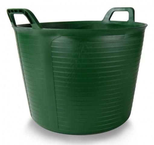 Galeata FLEXTUB din plastic verde Nr.3 (40 L) - RUBI-88728