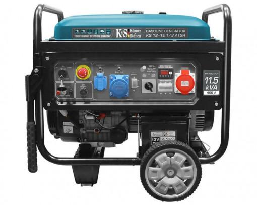 Generator de curent 8.2 kW benzina PRO - Konner & Sohnen - KS-12-1E-1/3-ATSR