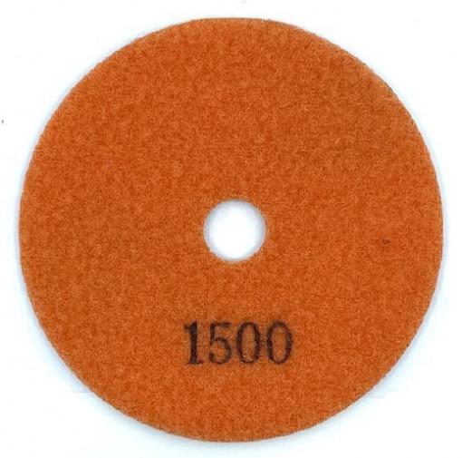 Paduri / dischete diamantate pt. slefuire uscata #1500 Ø125mm - DXDY.DRYPAD.125.1500