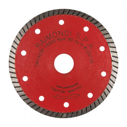 Disc diamantat pt. gresie, faianta, placi 125mm - Raimondi-179CCT125