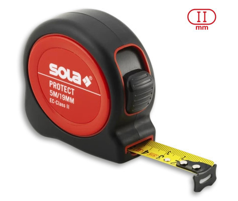 Ruletă Protect PE 525, 5m - Sola-50560601