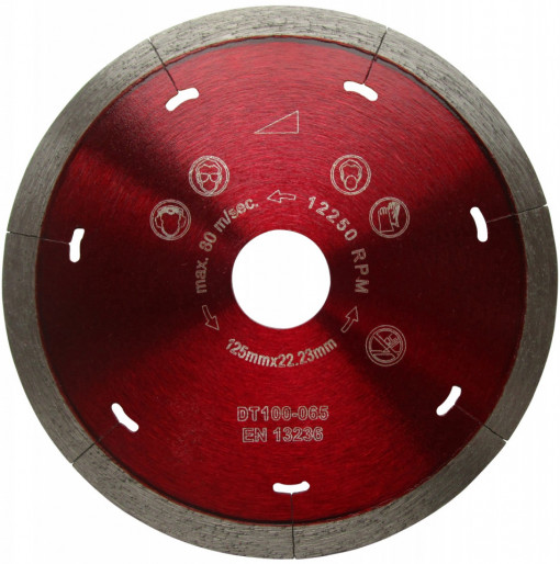 Disc DiamantatExpert pt. Ceramica Dura & Portelan - Rapid 300mm Super Premium - DXDH.3907.300