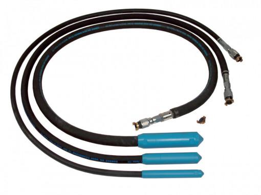 Vibrator Pneumatic VNF-25, Cap Ø25mm, cu 3 m furtun - Technoflex-141123R013