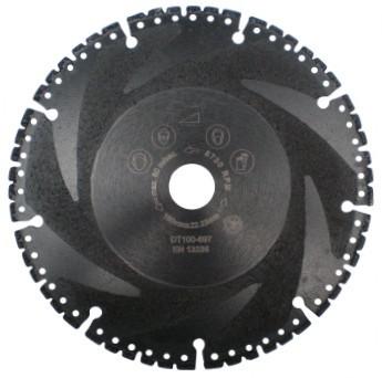 Disc DiamantatExpert pt. Descarcerare - Metal / Universal 115x22.2 (mm) Super Premium - DXDH.9107.115.22