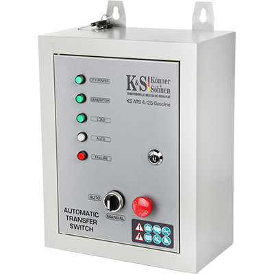 Panou de automatizare pt. Generatoarele Inverter Konner & Sohnen - KS-ATS-4/25