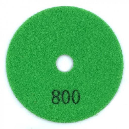 Paduri / dischete diamantate pt. slefuire uscata #800 Ø100mm - DXDY.DRYPAD.100.0800