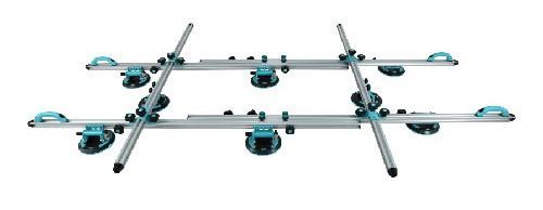 Sistem de transport cu 8 ventuze cu vacuum pt. placi mari, 320cm, 200kg - BIHUI-LFCSV8