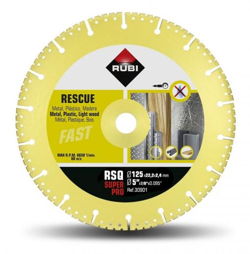 Disc diamantat pt. descarcerare 125mm, RSQ 125 Super Pro - RUBI-30901