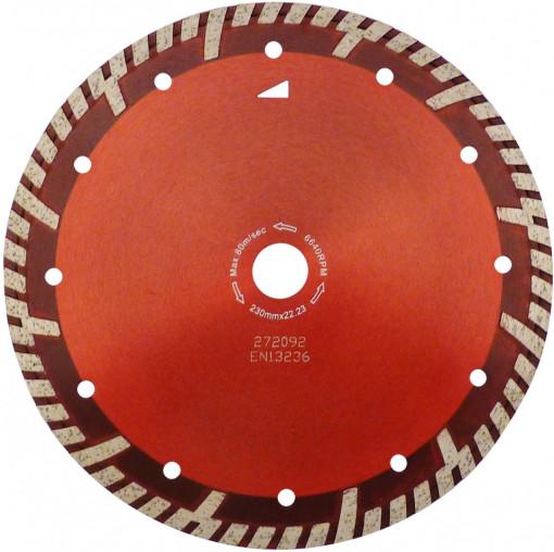 Disc DiamantatExpert pt. Beton armat & Granit - Turbo GS 350mm Super Premium - DXDH.2287.350