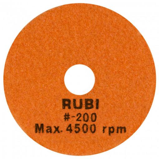 Dischete diamantate pt. polisat marmura, granit, piatra 100mm, #200 - RUBI-62972