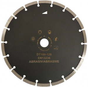 Disc DiamantatExpert pt. Caramida, Calcar & Mat. Abrazive 180x22.2 (mm) Premium - DXDH.1817.180