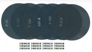 Disc din panza pt. finisari pardoseli, 2 fete Ø490mm, gran. 180 - Raimondi-274RT490G180