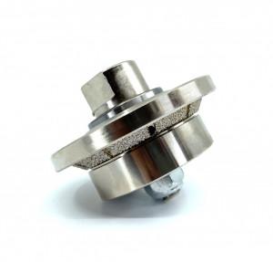 Freza Diamantata Bizot 45 grade - Inaltime 5mm pt. Marmura, Granit si Gresie - DXDY.BVL.H5D65