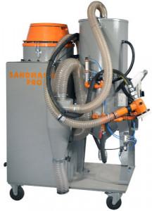 Masina de sablat cu recuperarea abrazivului - CX.ABRA-SandMasterPro