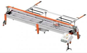 Masina de taiat gresie, faianta, placi 400cm, 2.5kW, LAB400, 400V - Raimondi-379CA400