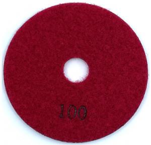 Paduri / dischete diamantate pt. slefuire umeda #100 125mm Super Premium - DXDH.23007.125.0100