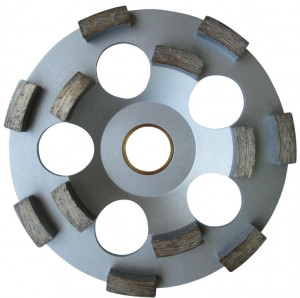 "Cupa diamantata rand dublu ""dinti scurti"" - Beton pt. Festool/Protool 130x25mm Profesional Standard - DXDH.4207.130.25"