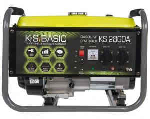Generator de curent 2.8 kW benzina BASIC LINE - Konner & Sohnen - KSB-2800A