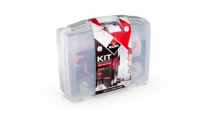 Kit carote diamantate EasyGres Plus 20, 28, 35, 43, 50, 68, 75mm, 7 buc. - RUBI-50937
