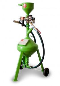 Masina de sablat cu abraziv - 8 litri - fara recuperare FEVI-SABIX-8-Base