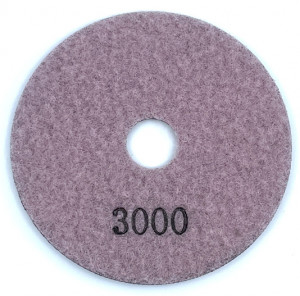 Paduri / dischete diamantate pt. polish uscat #3000 125mm Super Premium - DXDH.24007.125.3000