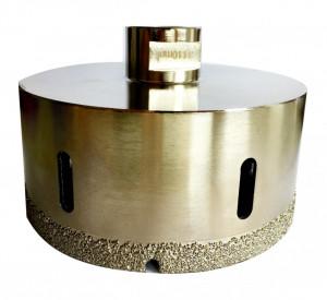 Carota diamantata pt. gresie portelanata & piatra - diam. 100mm - Super Premium - DXDH.80407.100