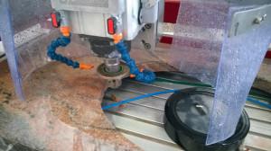 Centru de lucru CNC, pentru procesare piatra, granit, marmura, etc. Sysmatic - Ghines