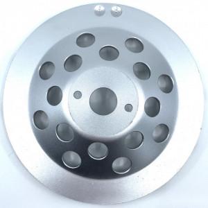 Cupa diamantata rand dublu diamant - Beton/Abrazive 180x22.2mm Profesional Standard - DXDY.SDCC.180
