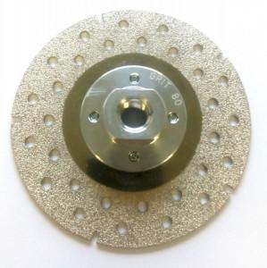 Disc DiamantatExpert pt. (galvanizat) pt. taiat si slefuit 125xM14 (mm) Super Premium - DXCD.CDP.125.G80