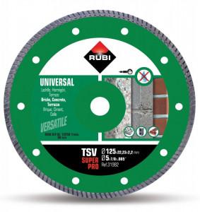 Disc diamantat pt. beton si caramida 125mm, TSV 125 Pro - RUBI-31980
