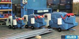Masina hidraulica profesionala pentru taiere armaturi din fier beton - Alba-CRM45