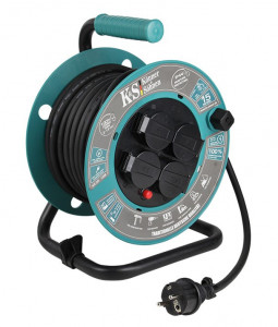 Prelungitor Rola 15m Cablu - KS-CR-15M