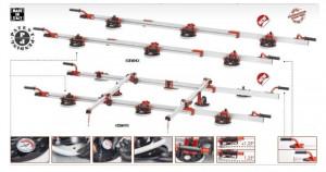 Sistem de transport pt. placi de dimensiuni mari, Easy-move MK IV - 8 ventuze RV175, 320cm - Raimondi-432EM04TA
