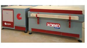 Banc dublu de lucru cu vacuum si exhaustare praf - Xaero
