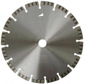 Disc DiamantatExpert pt. Beton armat / Mat. Dure - Turbo Laser 200x22.2 (mm) Premium - DXDH.2007.200