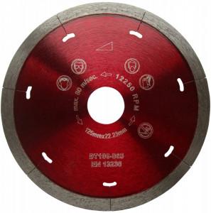 Disc DiamantatExpert pt. Ceramica Dura & Portelan - Rapid 125x22.2 (mm) Super Premium - DXDH.3907.125