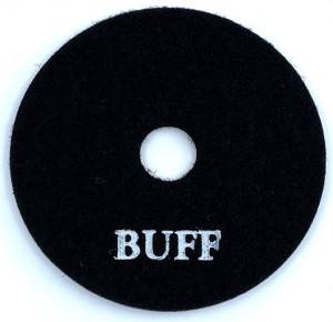 Paduri / dischete diamantate pt. polish uscat #BUFF 100mm Super Premium - DXDH.24007.100.BUFF
