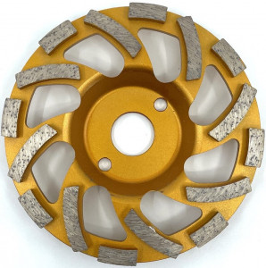 Cupa diamantata, segment tip ventilator - Beton/Abrazive 125mm Premium - DXDY.PSCC.125