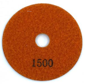 Paduri / dischete diamantate pt. polish uscat #1500 100mm Super Premium - DXDH.24007.100.1500