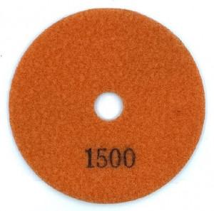 Paduri / dischete diamantate pt. slefuire uscata #1500 Ø100mm - DXDY.DRYPAD.100.1500