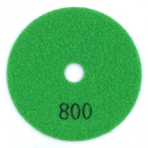 Paduri / dischete diamantate pt. slefuire uscata #800 Ø125mm - DXDY.DRYPAD.125.0800